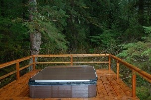 Bayside Hot Tub at The Residence